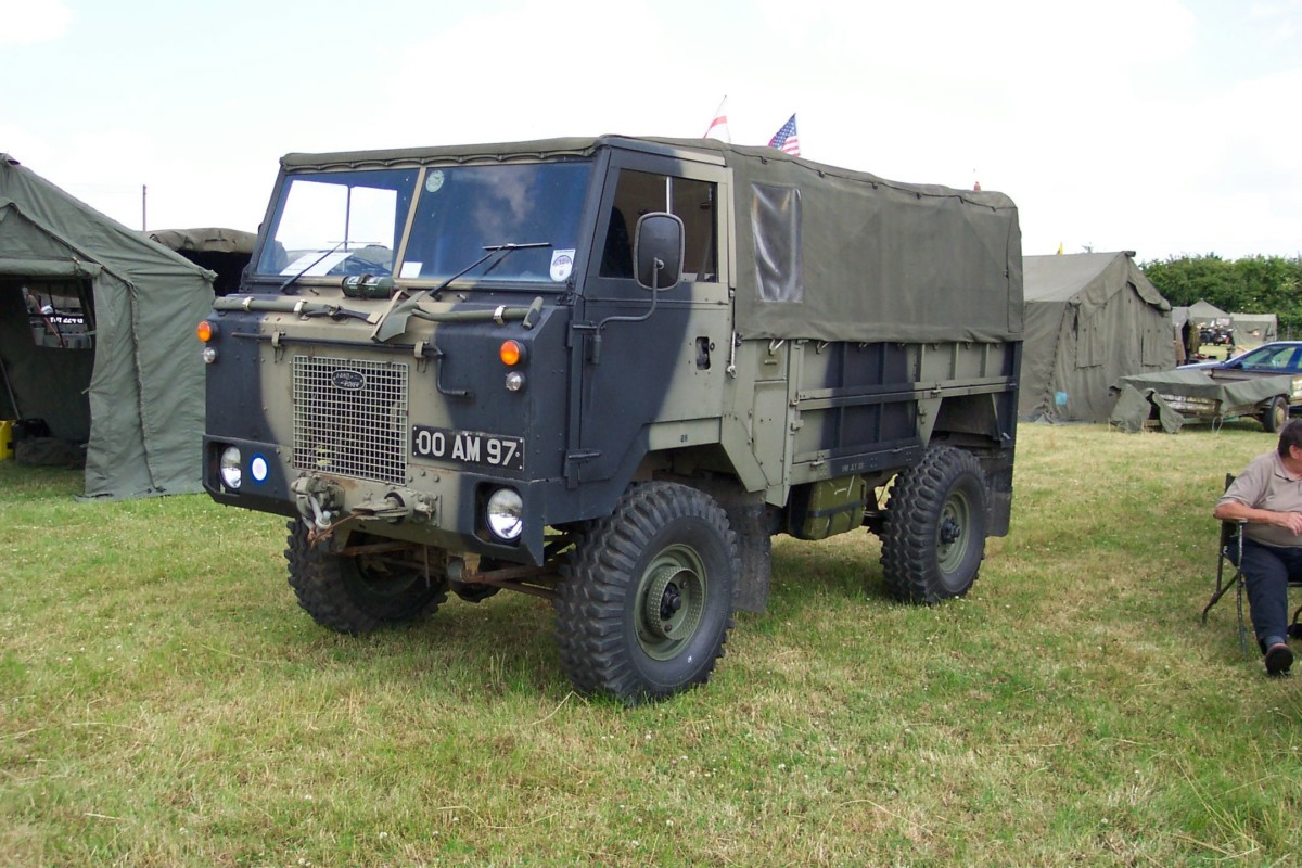 Land Rover 101FC (1972 г.)