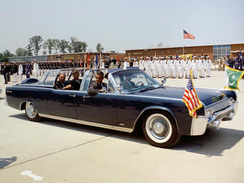 Самые интересные автомобили президентов США