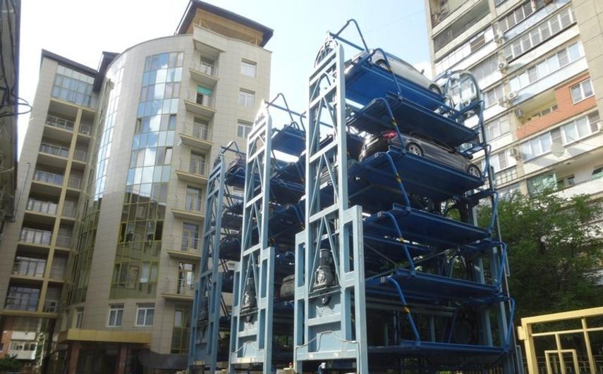 В центре Киева появится многоярусная роторная парковка
