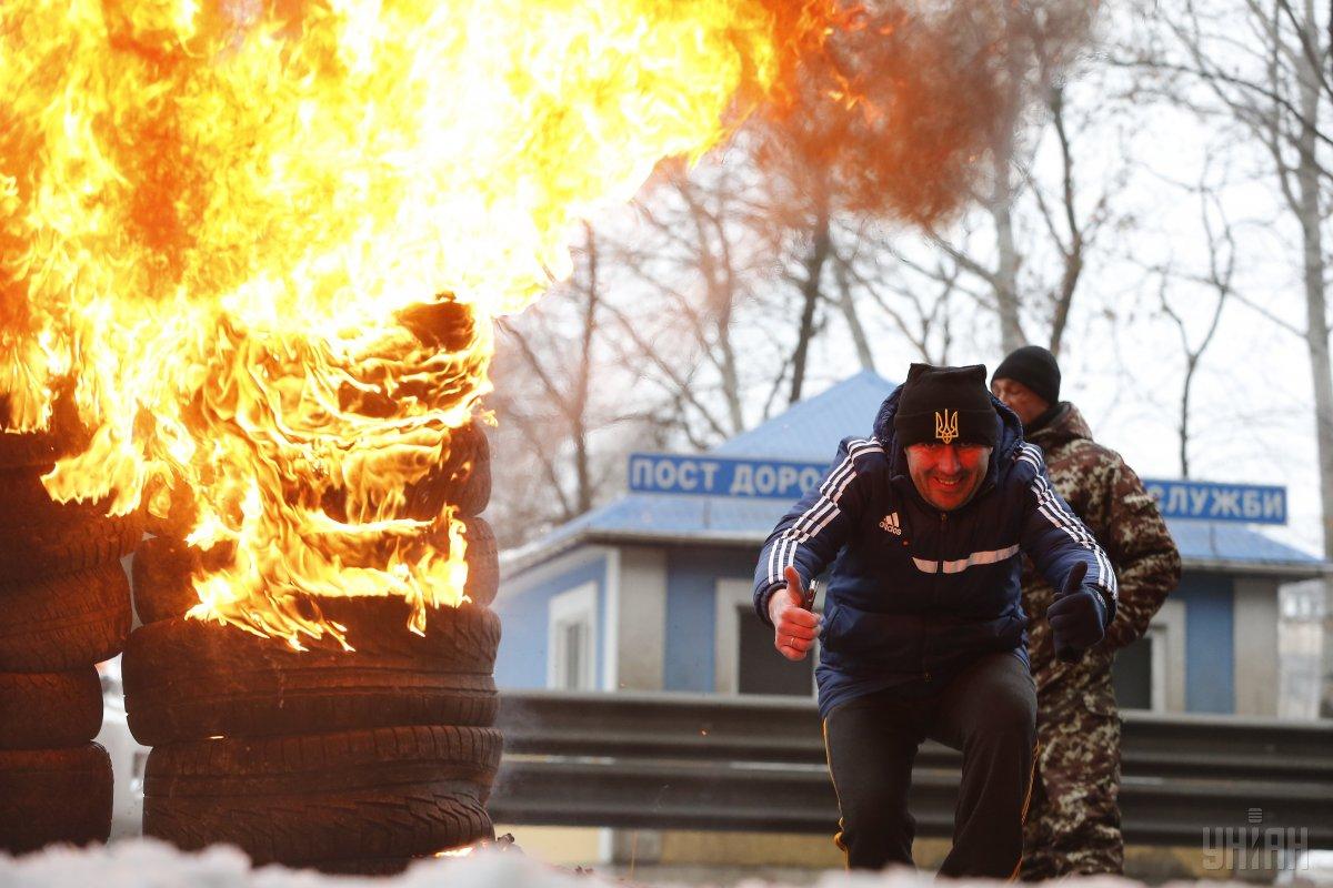протесты в киеве нерастаможенные авто на иностранных номерах