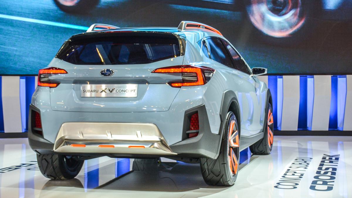 Каким будет новый кроссовер Subaru XV 2018
