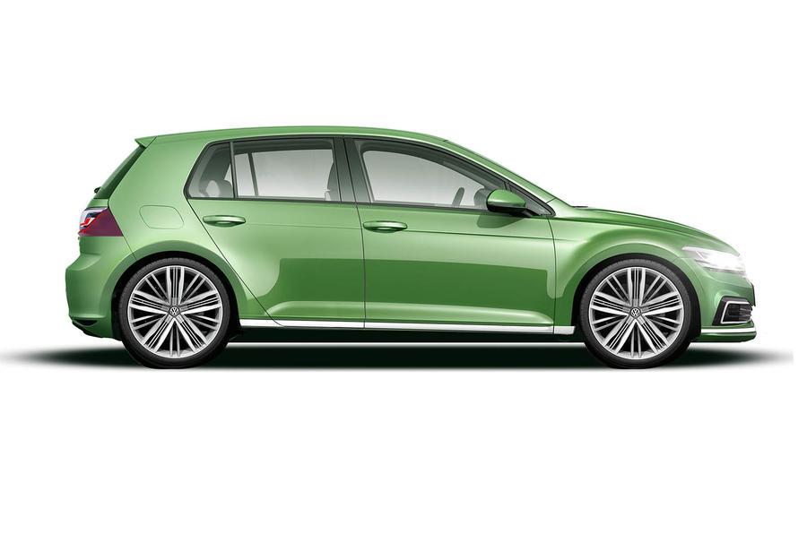 Вweb-сети появился 1-ый рендер восьмого поколения VW Golf
