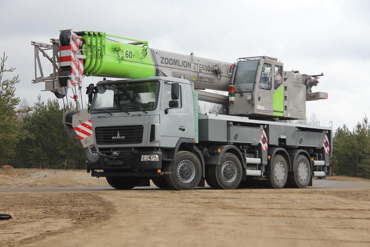 60-тонный автокран КС-6576Z-1