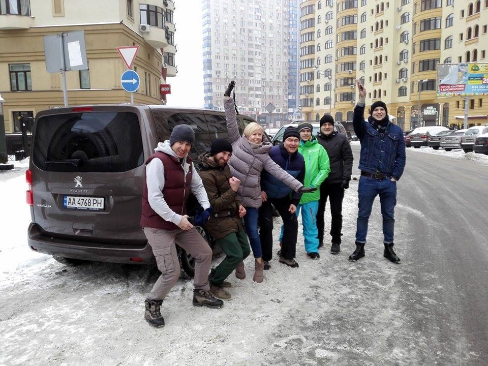 Горнолыжные курорты Украины: галопом по Карпатам на премиальном минивэне Peugeot Traveller
