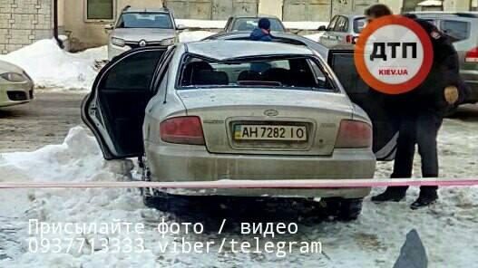 Осторожно, падает лед. Новая опасность для водителей в Украине