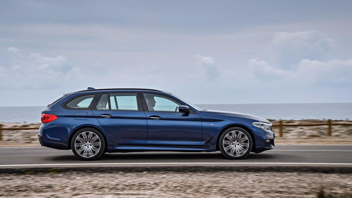 BMW 5 Series Touring 2018 – первые официальные фото универсала БМВ 5