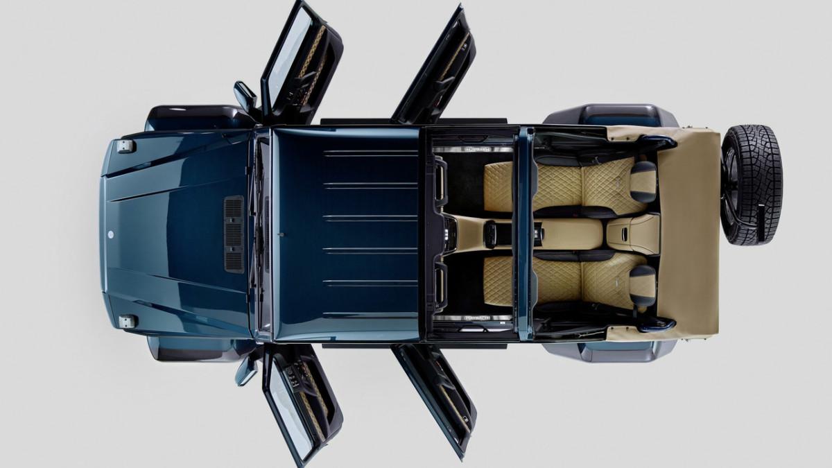 Роскошный Mercedes-Maybach G650 Landaulet – официальные фото и видео