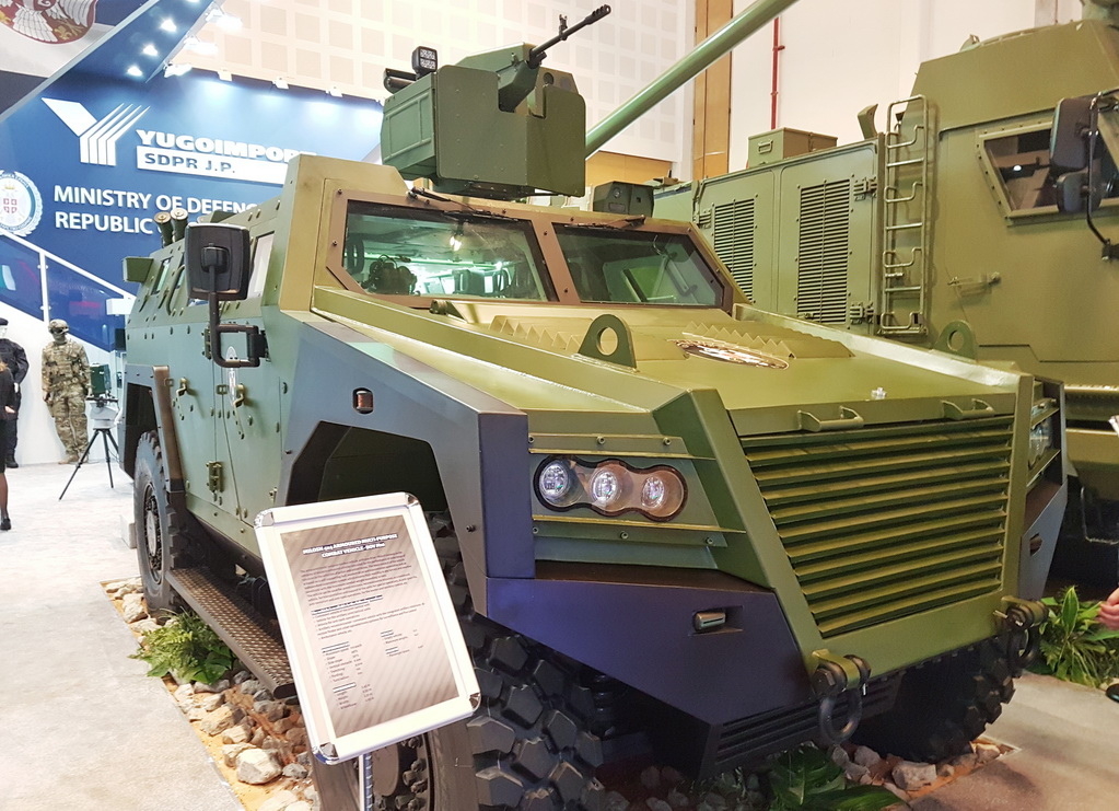 BOV M16 Milosh