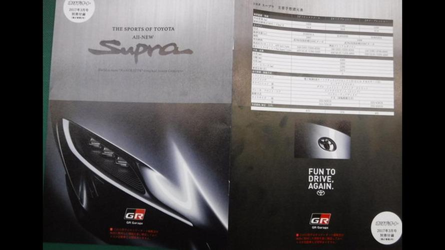 Каким будет новое купе Toyota Supra 2018