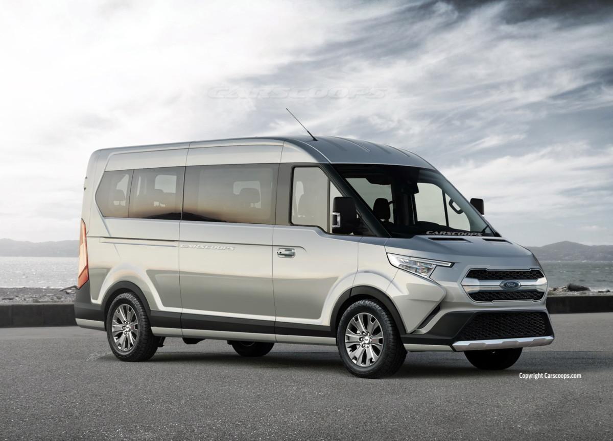 Ford Transit 2019 года