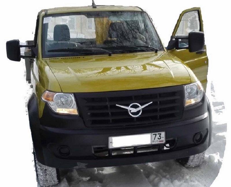 Перспективный грузовик УАЗ