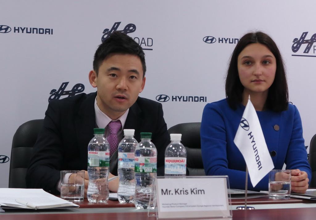 Мистер Крис Ким, маркетинг продукт менеджер Hyundai Motor Company CIS & Eastern Europe Regional Headquarters