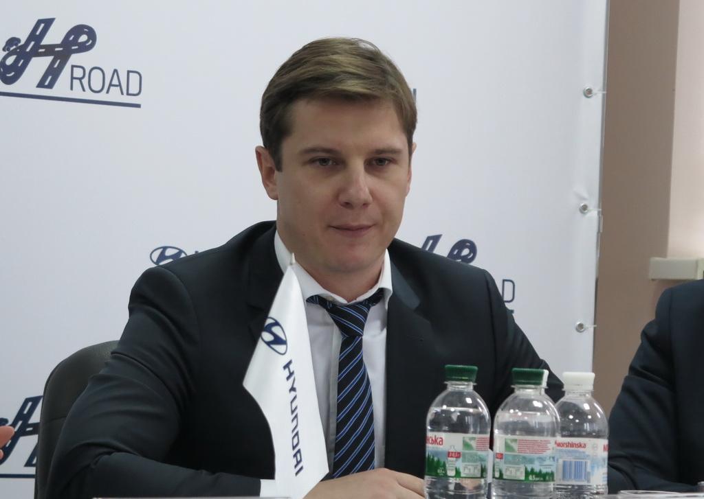 Тарас Лопачак, маркетинг директор «Хюндай Мотор Украина»