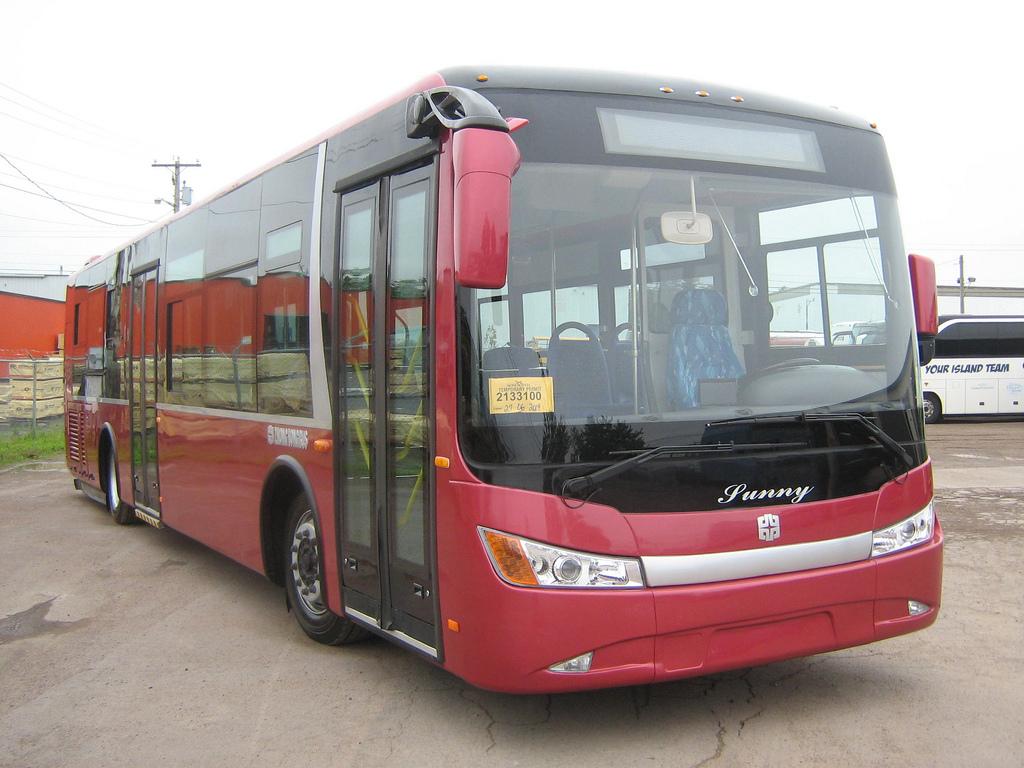 Продукция Zhongtong Bus