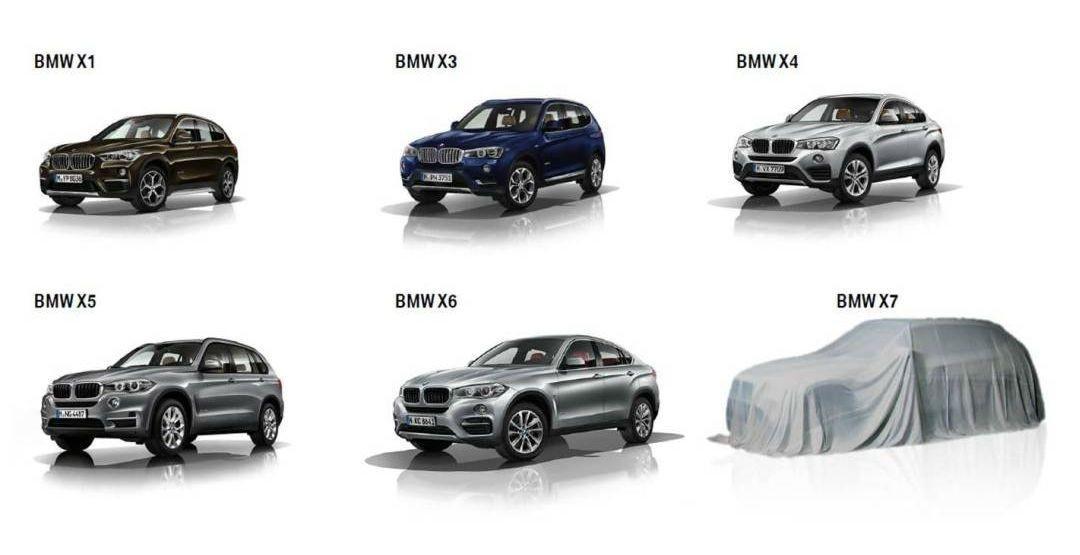 BMW представит 28 новых моделей до 2021 года