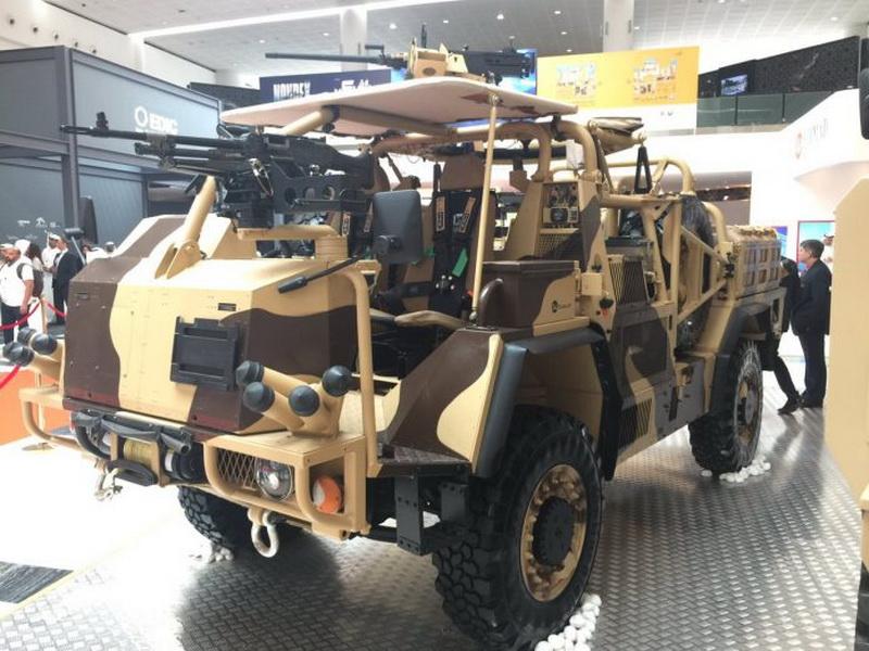 Supacat HMT 400 под названием Desert («Пустыня»)