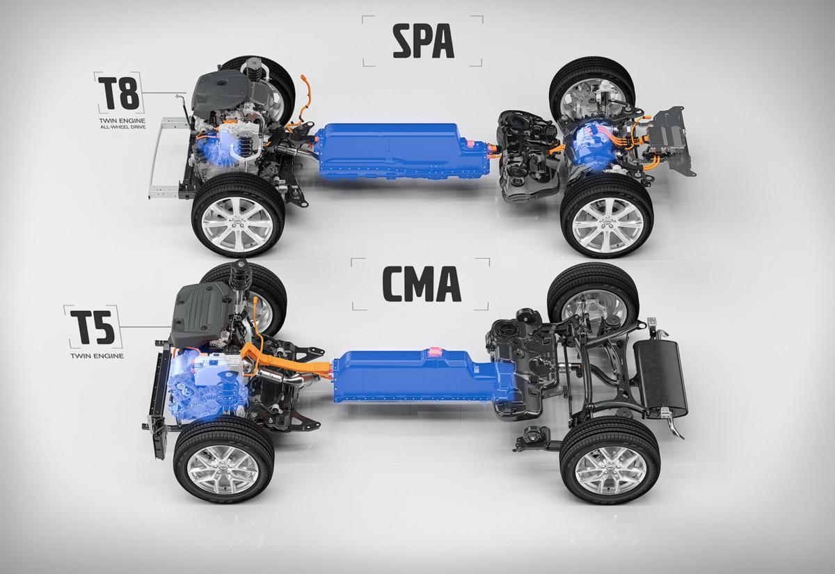 Компактный кроссовер Volvo XC40 2018 получит гибридную и электрическую версии