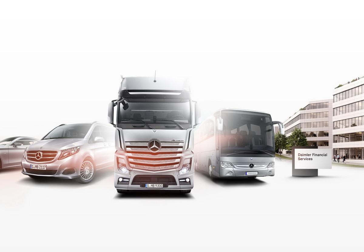 Daimler обнародовал продажи коммерческих автомобилей