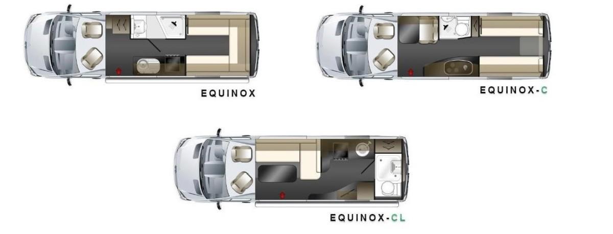 Кемперы семейства Equinox