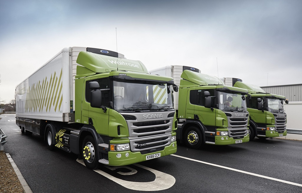 Грузовики Scania на биометане могут проехать до 800 км