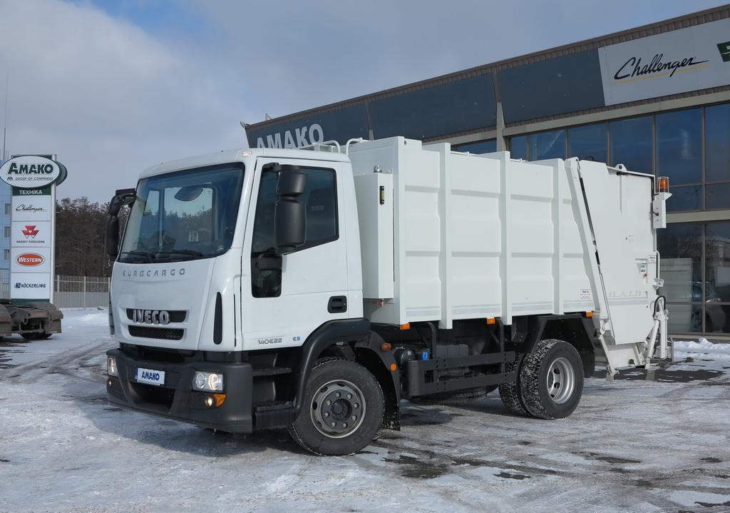 Мусоровоз «ВЛИВ-Мини» 10-14 ИВ140 на шасси IVECO EuroCargo ML 220E14