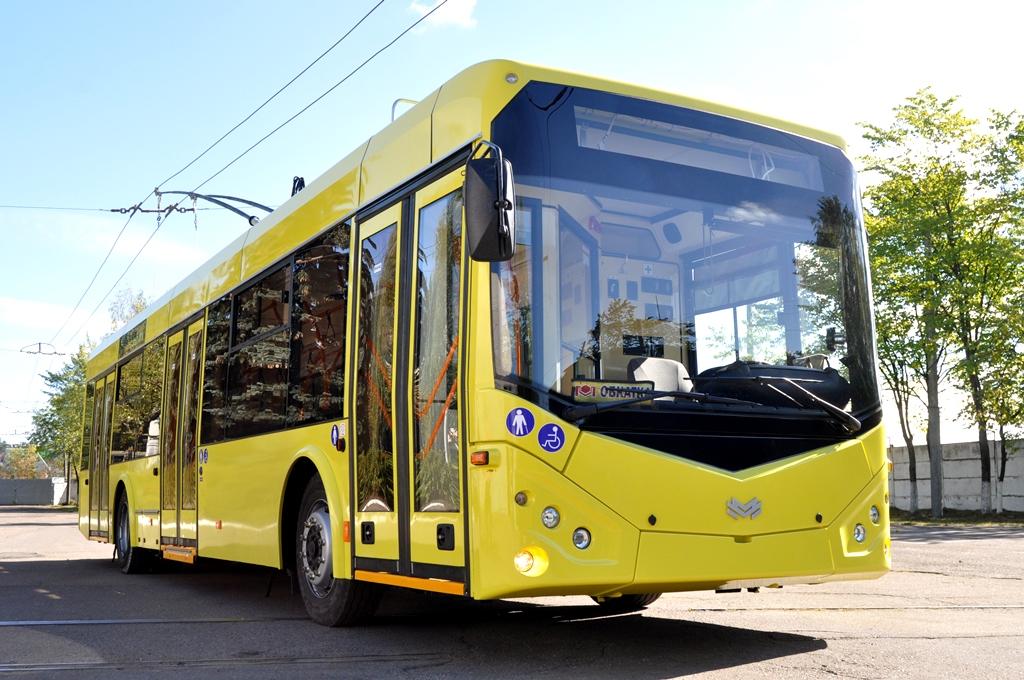 Обновленный троллейбус «Белкоммунмаш» модели 321