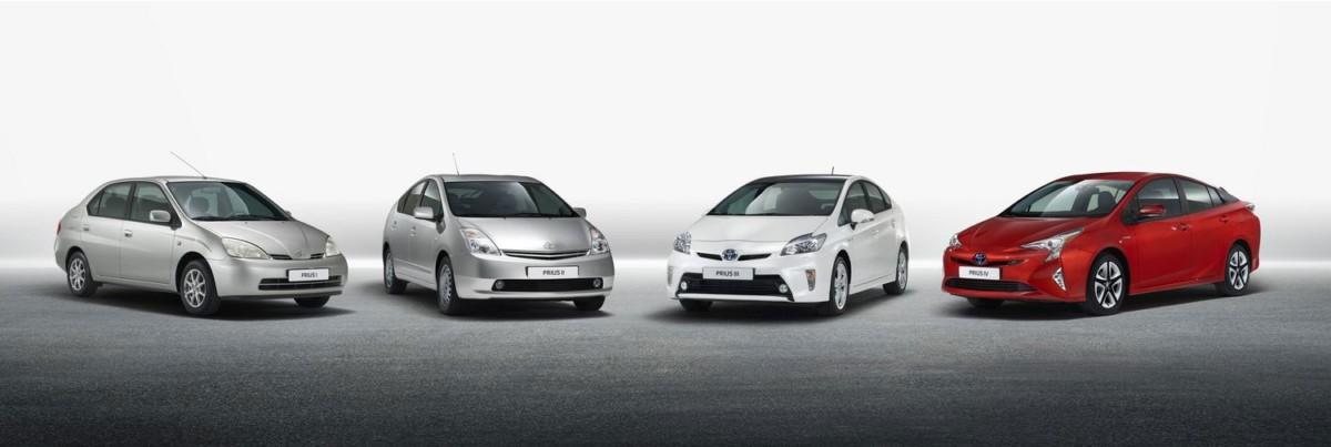Toyota выпустила 10 миллионов гибридов за 20 лет