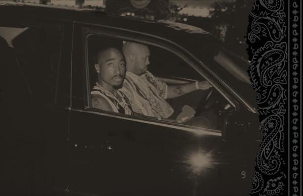 Последнее фото Тупака Шакура в BMW, сделанное за 15 минут до трагедии