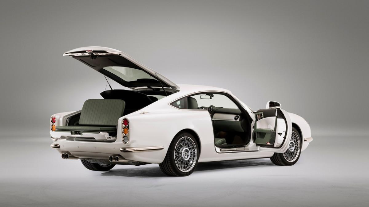 В Женеве представят эксклюзивное купе в стиле Aston Martin 60-х