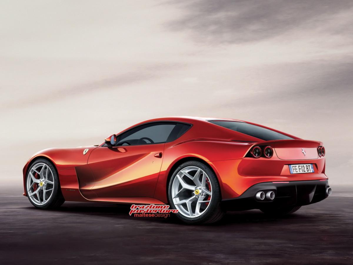 Обновленный суперкар Ferrari F12 M станет быстрее и маневреннее