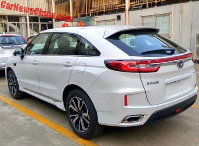 Honda UR-V – новый конкурент BMW X4 и Mercedes GLC Coupe