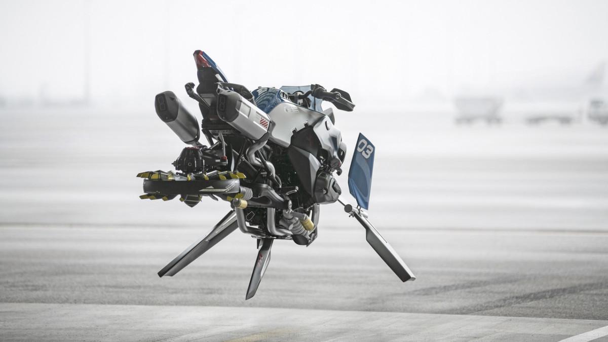 BMW Hover Ride. Какими будут мотоциклы БМВ будущего