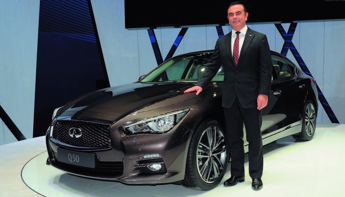 Карлос Гон покидает пост гендиректора Nissan