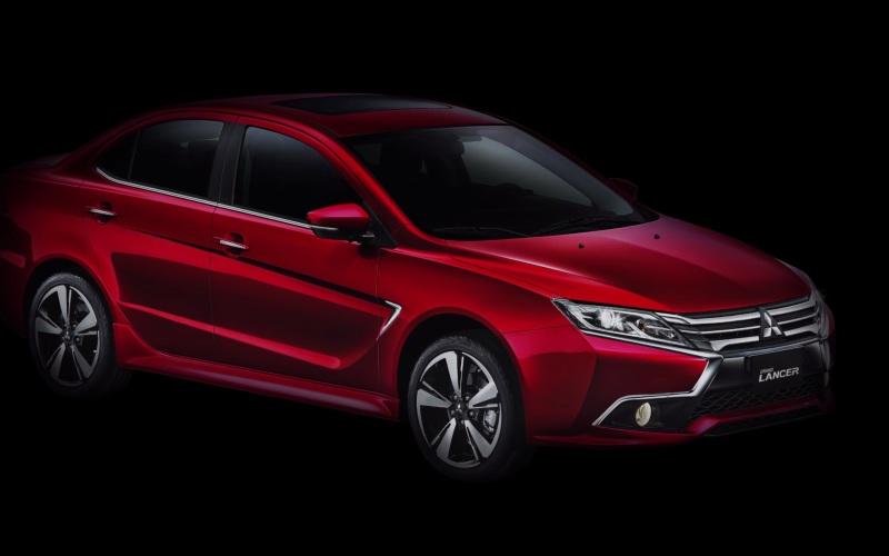 Обновленный седан Mitsubishi Lancer подрос и сменил название