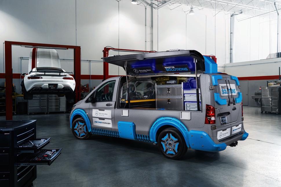 Mercedes-Benz Metris MasterSolutions Toolbox Van