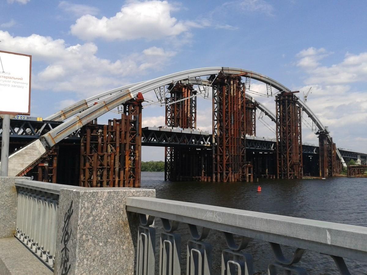 КГГА выделит 625 млн грн настроительство моста наТроещину