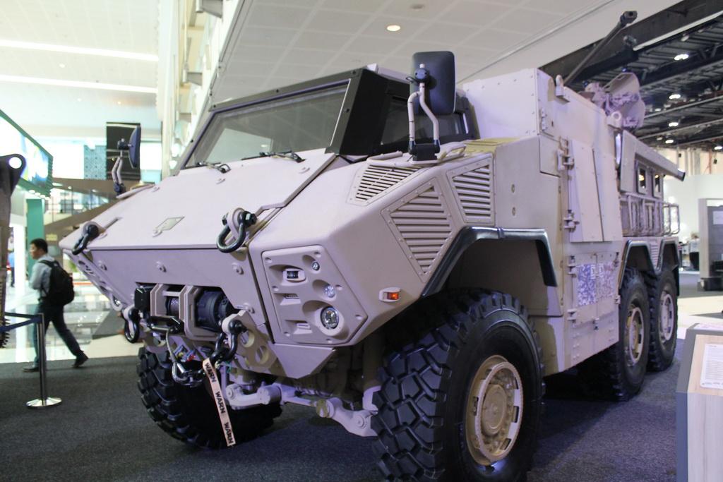 Бронеавтомобиль NIMR Jais (6x6)