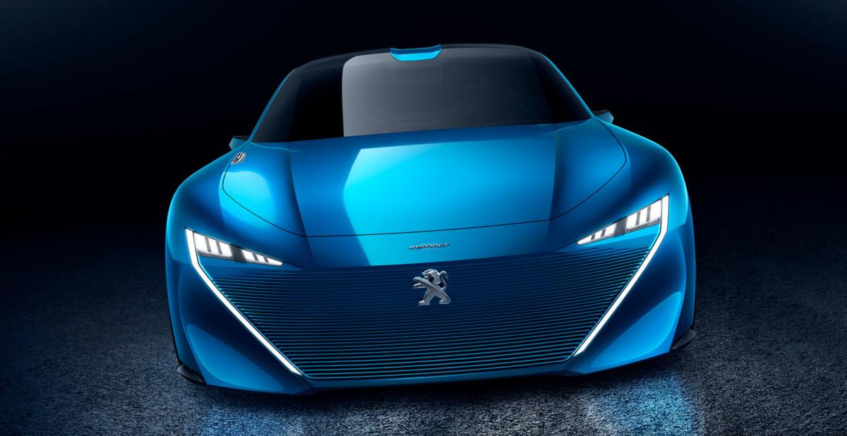 Вглобальной сети уже рассекретили новый концептуальный автомобиль Peugeot (Пежо) Instinct