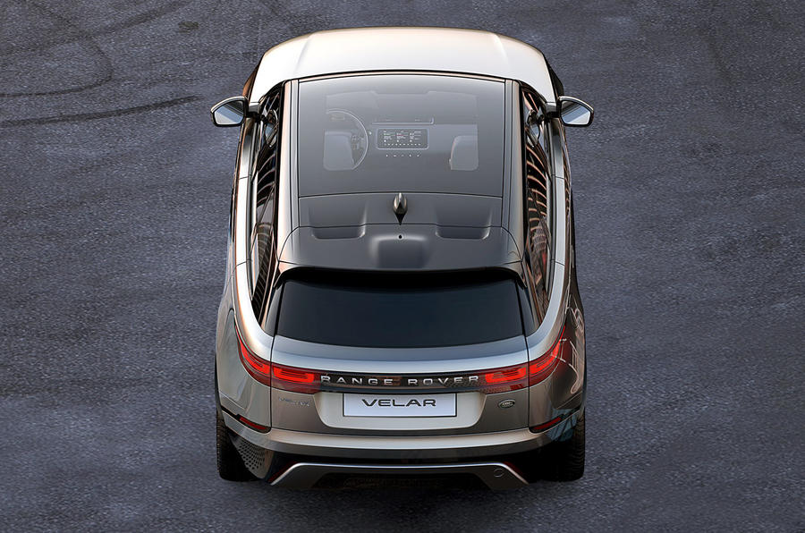 Range Rover Velar. Официальные фото первого купе-кроссовера Ленд Ровер