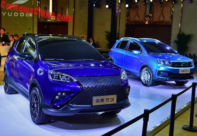В Китае презентован новый бренд доступных электромобилей