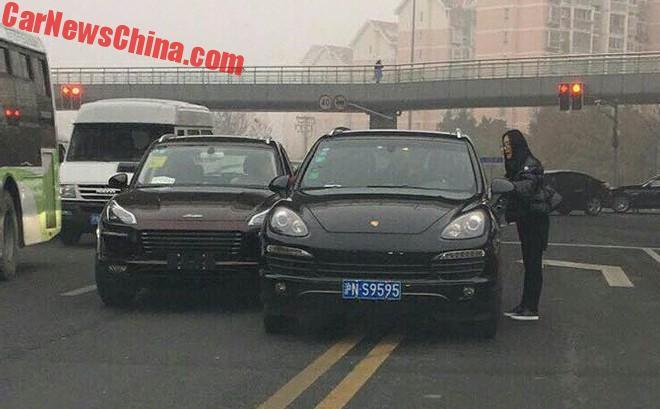 Нарынок выходит очередной китайский клон Range Rover Evoque
