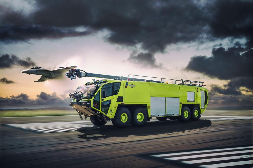 Scania в 1540 л. с. – самый мощный пожарный автомобиль