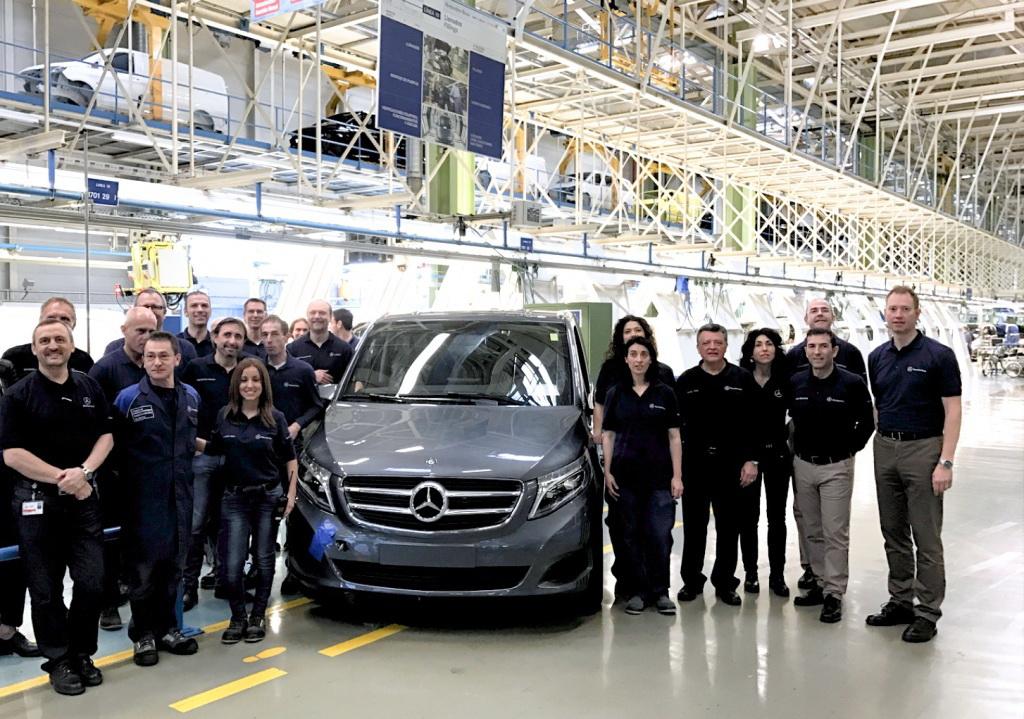 Юбилейный минивэн Мерседес - 100-тысячный Mercedes-Benz C-Class