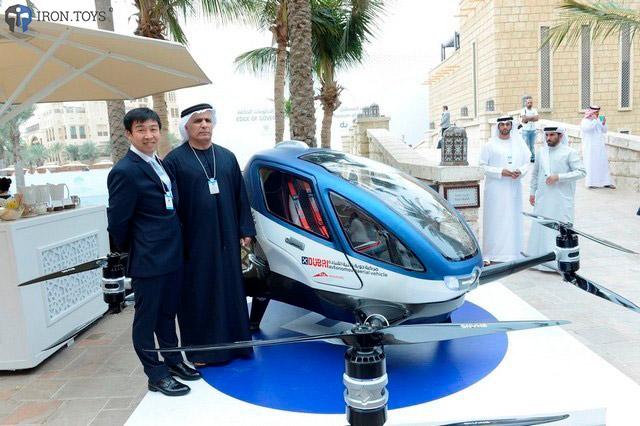 Летающее такси в Эмиратах (старт работы – лето 2017 года)