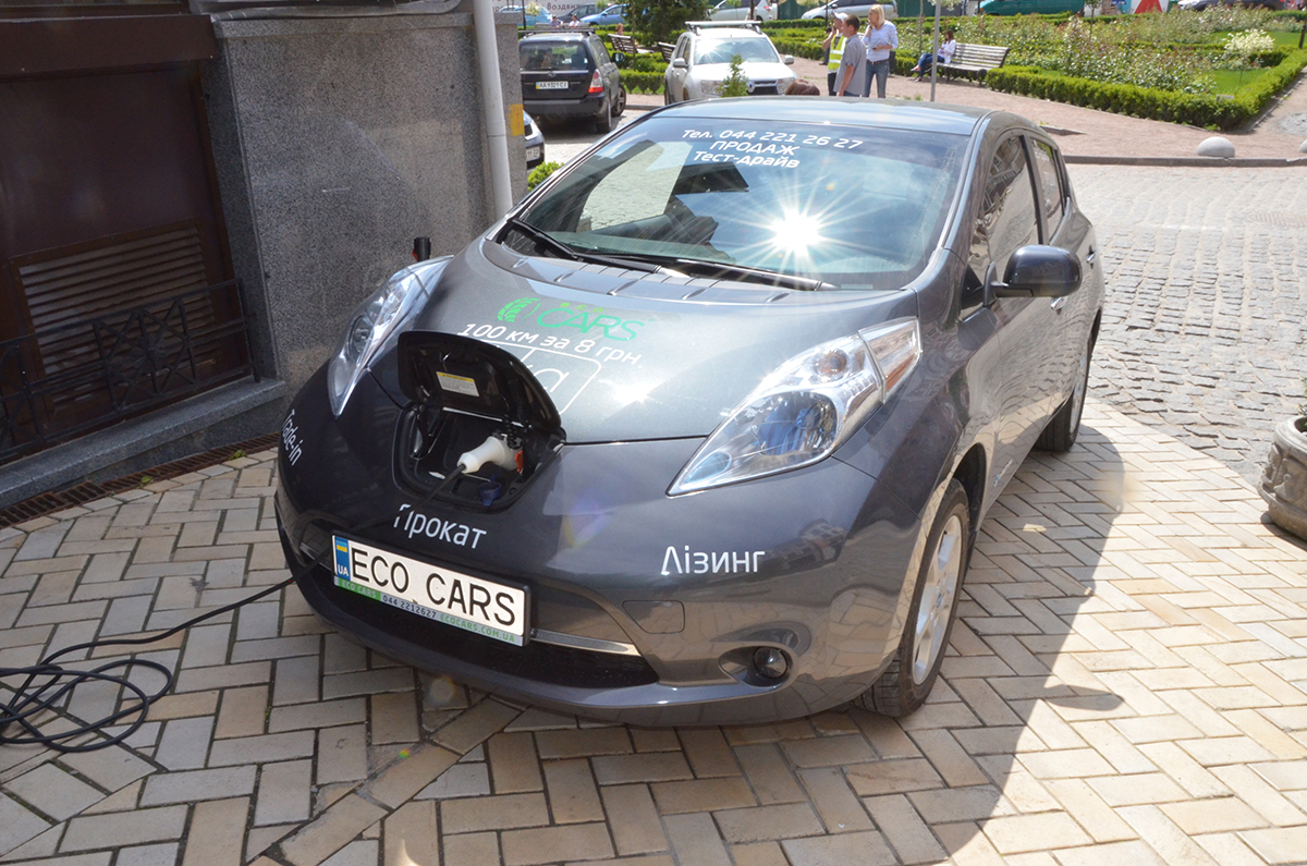 Украина – в Топ-5 мировых лидеров по темпам роста продаж электрокаров