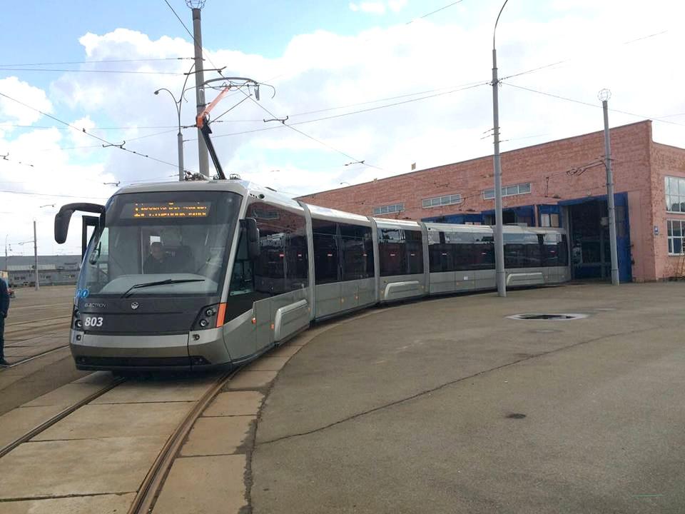 трамвай «Электрон»