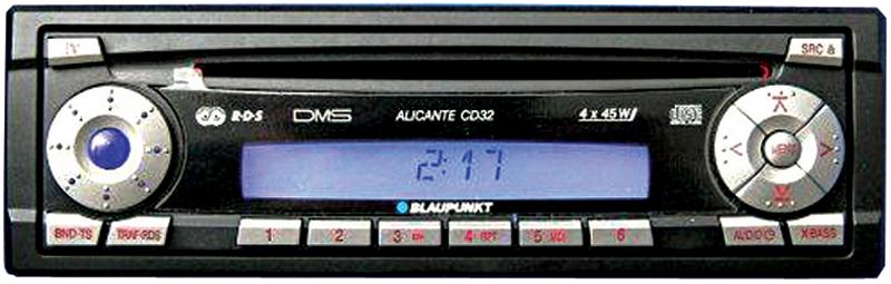 Магнитола с CD-приводом