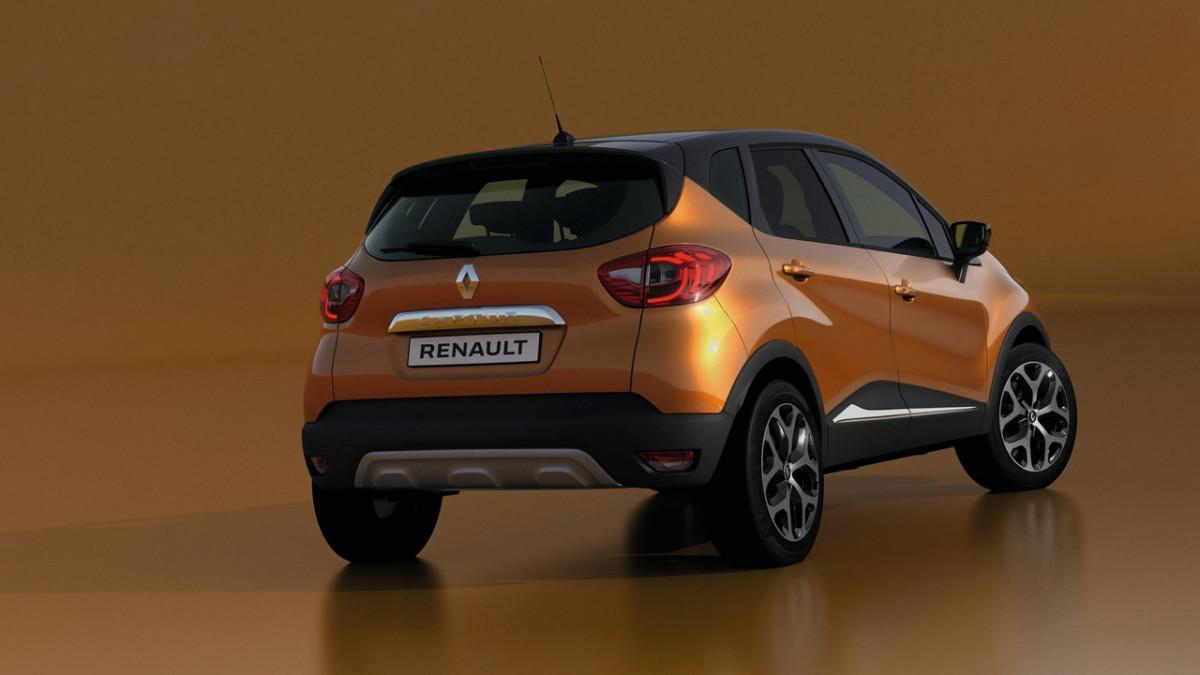 Обновленный кроссовер Renault Captur получил заметные изменения