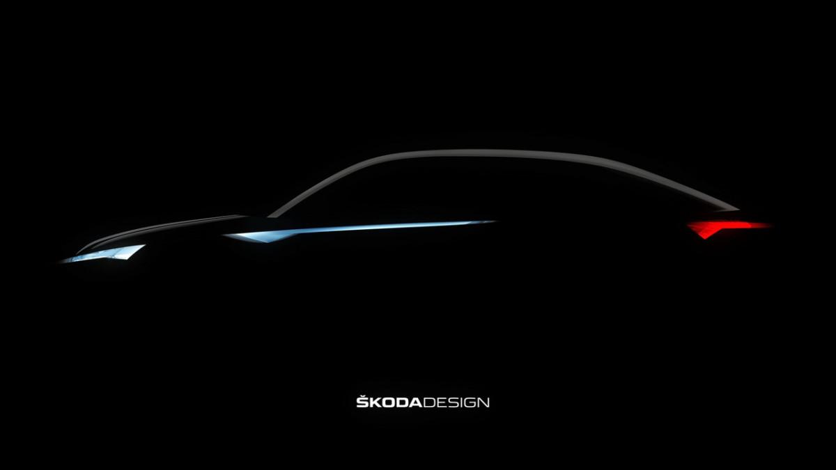 Первый электромобиль Skoda рассекречен до премьеры