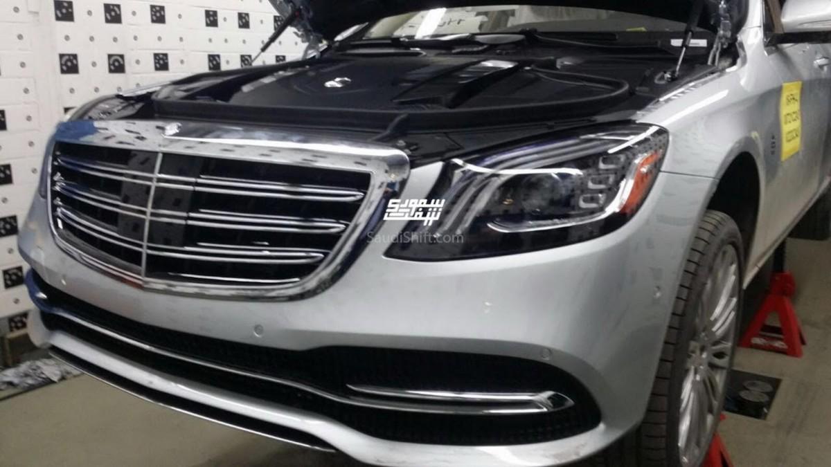Обновленный Mercedes-Benz S-Class 2018 рассекречен перед премьерой